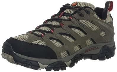 Merrell Men's Moab Waterproof Hiking Shoe,Bark Brown Leather,7 M US