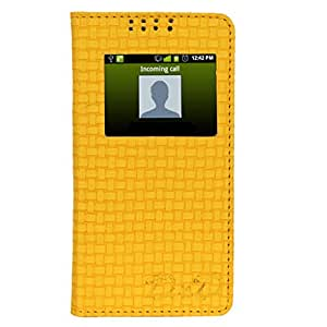 D.rD Flip Cover with screen Display Cut Outs designed for INFOCUS M350