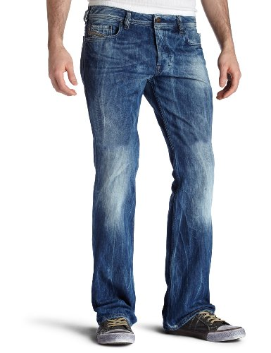 Brand New Diesel Zatiny 8C0 Mens Jeans, 008C0, Regular Slim Fit Bootcut (29 x 32)