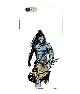 printtech Lord God Shiva Design Back Case Cover for Apple iPhone 6 Plus