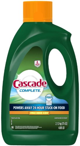 Cascade Complete Gel All-in-1 Dishwasher Detergent - Citrus breeze - 75 oz (All Dishwasher Detergent compare prices)
