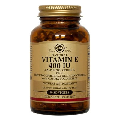 Solgar Vitamin E 400 IU Mixed Softgels - 50 softgels
