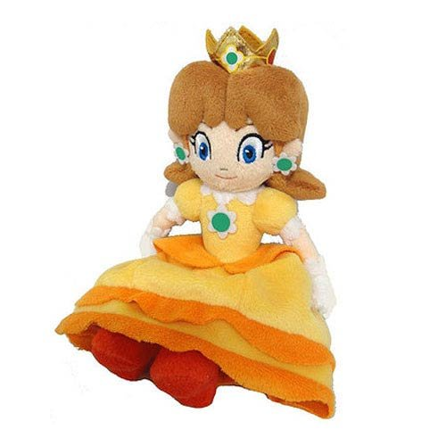 "Little Buddy Toys Official Super Mario Daisy 8"" Plush - 1"