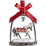 Breyer Peppermint Kiss Stirrup Ornament