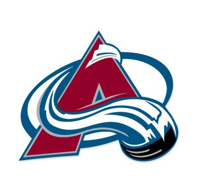 Colorado Avalanche NHL Extra Large Sticker (16