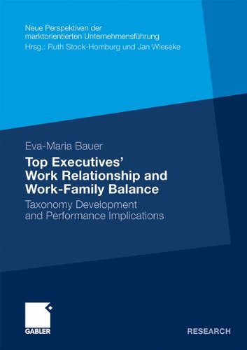 Top Executives' Work Relationship and Work-Family Balance: Taxonomy Development and Performance Implications (Neue Persp