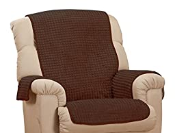WalterDrake Chenille Recliner Furniture Protector