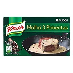 Knorr 3 Peppercorn Steak Sauce Mix 8 Peppercorn Stock Cubes Pink Peppercorn, Black Peppercorn Green Peppercorn