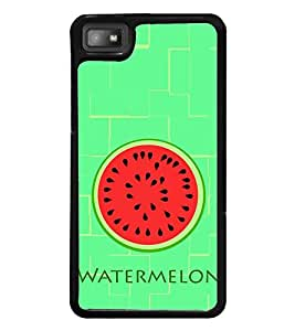 Watermelon Pattern 2D Hard Polycarbonate Designer Back Case Cover for BlackBerry Z10