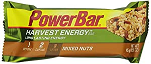PowerBar Harvest Energy Bars, Mixed Nuts, 1.58-Ounce Bars (Pack of 15)