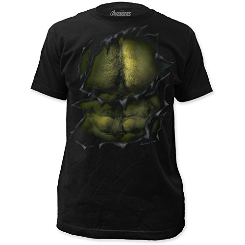 The Avengers Age of Ultron Incredible Hulk Reveal Costume Marvel Comics T-shirt
