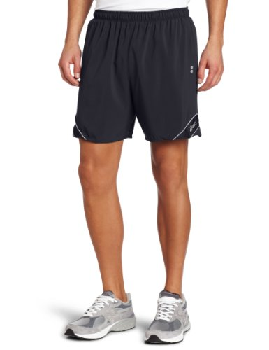 ASICS Asics Men's Peak Short, Large, True Navy/Silver