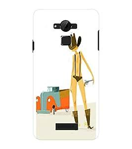 EPICCASE Cow Boy Cases Mobile Back Case Cover For CoolPad Dazen Note 3 Lite (Designer Case)