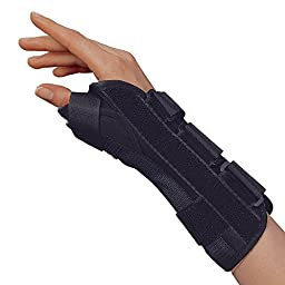 OTC Lightweight Breathable Wrist/Thumb Splint, Right, Medium