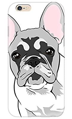 iphone 6/6s hard PC case Cute bulldog 3D design only fit iphone 6/6S 4.7 inch by Esacme