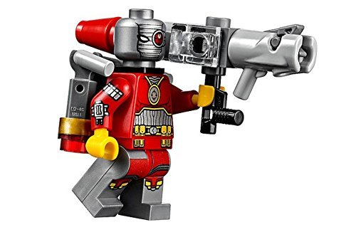 Lego Deadshot supereroi DC Super eroe Batman Minifigure con Arma