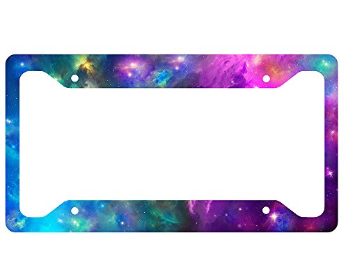 Space Galaxy License Plate Frame (License Plate Frame Space compare prices)