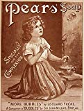 Moonlizard Pears Soap Vintage Advert No 31 Metal Plaque Sizes - 8