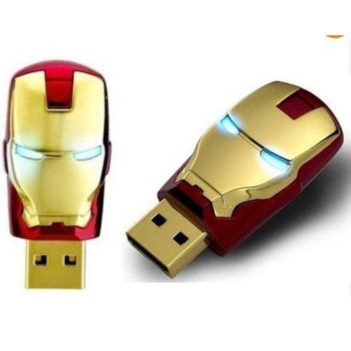 FunkyPanda Iron man Fancy USB Flash 64 GB Pen Drive Red