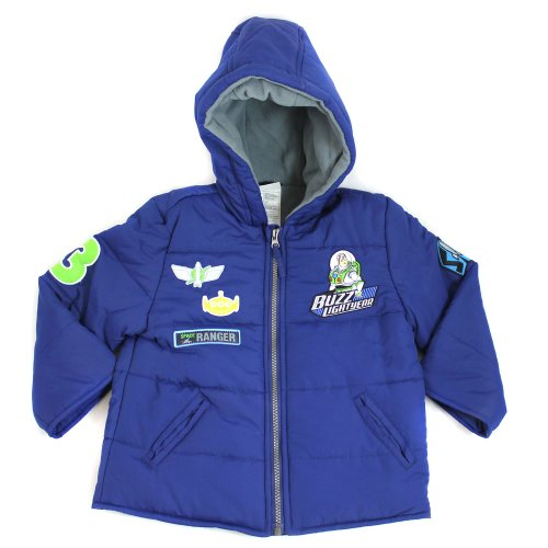 Toy Story Buzz Lightyear Coat - Winter Coat - From Age 2 to 4 Years
