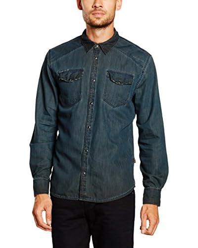 Pepe Jeans London Hemd Denim Harry dunkelblau