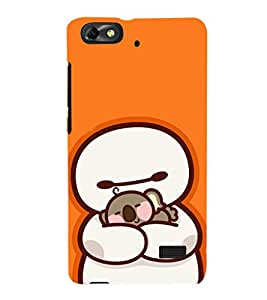 EPICCASE Cute Teddy cover Mobile Back Case Cover For Huawei Honor 4C (Designer Case)