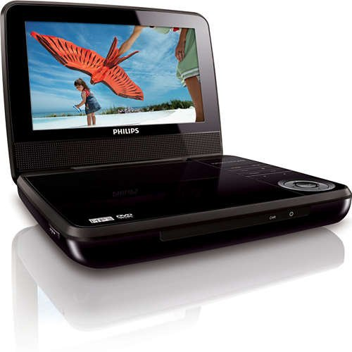 "Philips 7"" Portable DVD Player"
