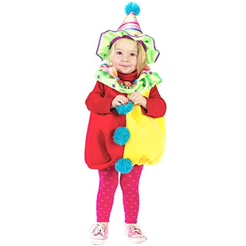 Child's Toddler Cutie Clown Costume (Size: 2T)