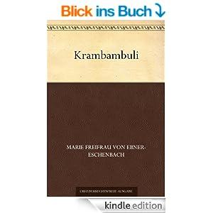 krambambuli ebook marie freifrau von ebner eschenbach. Black Bedroom Furniture Sets. Home Design Ideas