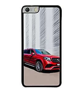 Luxury Red Car 2D Hard Polycarbonate Designer Back Case Cover for Micromax Canvas Knight 2 E471