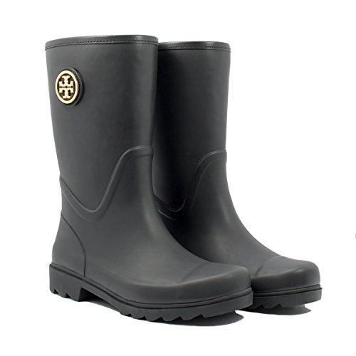7c346576b96b6 canada tory burch rain boots black and brown 312e4 1bf57