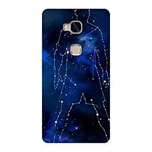 Ajay Enterprises Extant Star Man Back Case Cover for Huawei Honor 5X