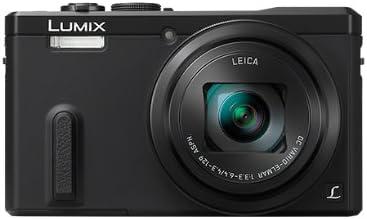 Panasonic DMC-TZ60 Lumix Fotocamera Compatta, 18 MP, Zoom Ottico 30x, GPS, WiFi, NFC, Nero