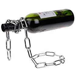 Cool Chain Style Bottle Holder Wine Rack Red Wine Stand Support Bracket HLI-99267