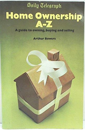 Daily telegraph home ownership, A-Z PDF