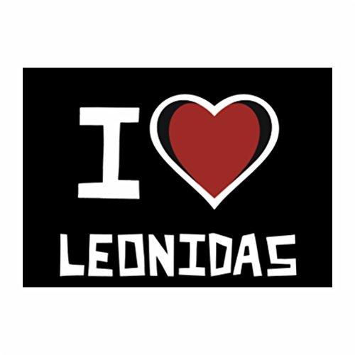 teeburon-i-love-leonidas-pack-de-4-pegatinas