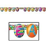 Easter - Color Bright Egg Streamer イースター-色鮮やかな卵のストリーマー♪ハロウィン♪クリスマス♪