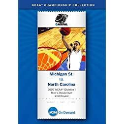 2007 NCAA(r) Division I Men's Basketball 2nd Round - Michigan St. vs. North Carolina