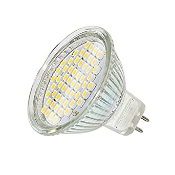 SMD SPOT MR16 GU5.3 8-24V AC/DC 54SMD LAMPE WARMWEISS ENERGIESPARLAMPE NEU
