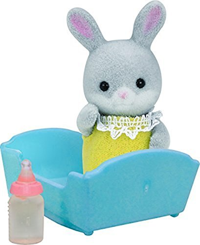 Sylvanian Families Cottontail Rabbit Baby Doll (Multi-Colour) by Sylvanian Families