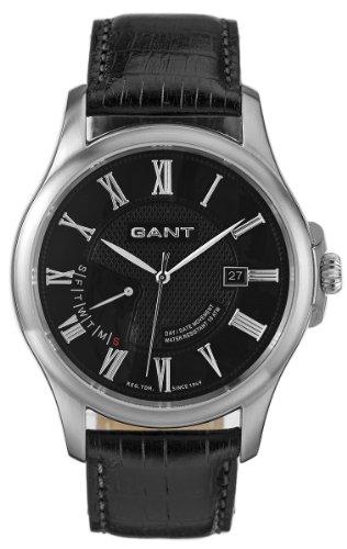 Gant W10371 - Orologio da polso da uomo, cinturino in pelle colore nero