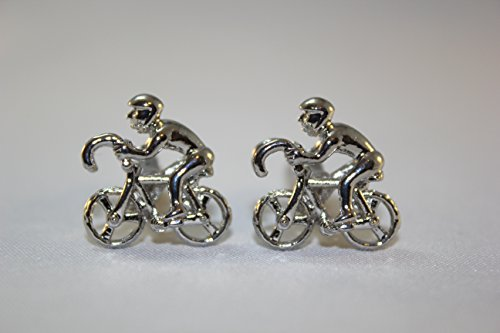 CYCLE RACING - Novelty Gift Boxed Cufflinks