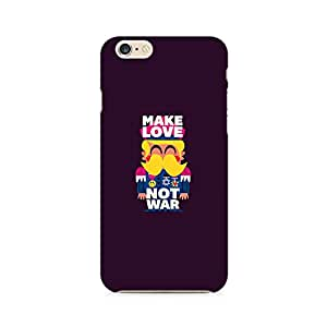 Ebby Make Love Not War Premium Printed Case For Apple iPhone 6/6s