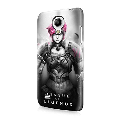 League Of Legends Vi The Piltover Enforcer Samsung Galaxy S4 MINI Hard Plastic Case Cover