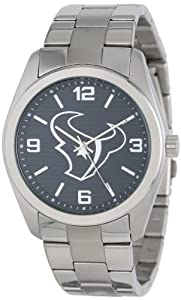 Game Time Unisex NFL-ELI-HOU Elite Houston Texans 3-Hand Analog Watch by Game Time