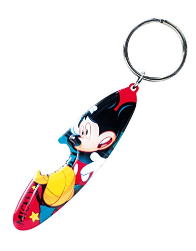 Disney Mickey Surfboard Bottle Opener Key Ring