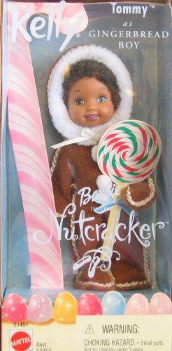 Fashion Dolls: Barbie Nutcracker Kelly TOMMY as Gingerbread Boy Doll ...