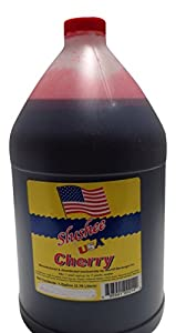 Cherry Slushie Mix - 1 Gallon - 128 oz (yields approximately 96-12oz servings) Mixing Ratio 7 (Water) to 1 (Product Mix)