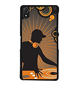 DJ Music Back Case Cover for SONY XPERIA Z3