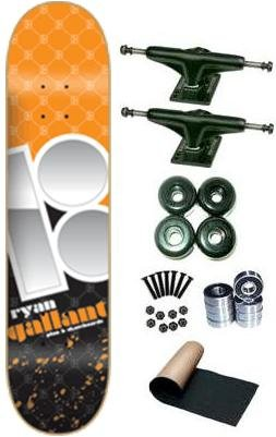 Plan B Ryan Gallant Venti Complete Skateboard Deck New